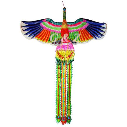 g z wholesale store colorful 3d chinese phoenix kite medium