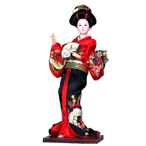 Japanese Geisha Dolls